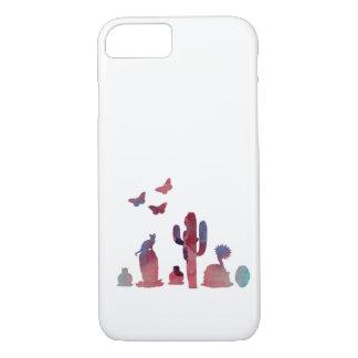 Cacti art Case-Mate iPhone case