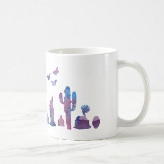 Cacti art coffee mug