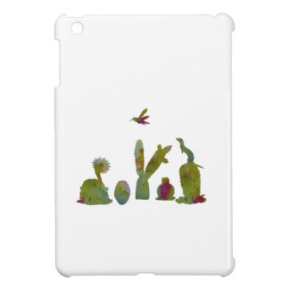 Cacti art iPad mini cases