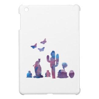 Cacti art iPad mini cases