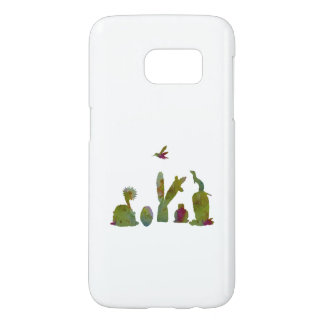 Cacti art samsung galaxy s7 case