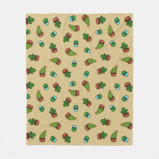Cacti Cuties Throw Blanket