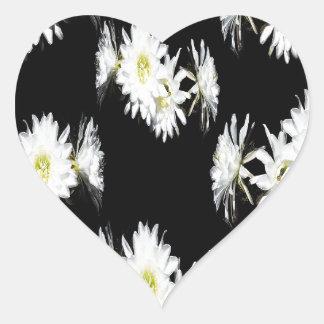 Cacti_Flower_Envy,_ Heart Sticker