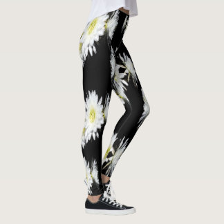 Cacti Flower Envy Pattern, Ladies Leggings. Leggings