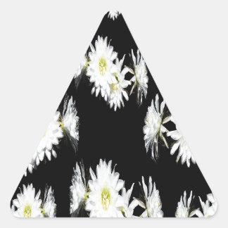 Cacti_Flower_Envy,_ Triangle Sticker