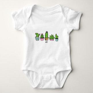 cacti grouping baby bodysuit