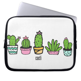 cacti grouping laptop sleeve