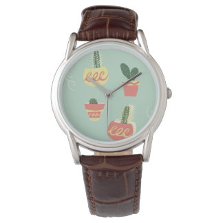 Cacti Watch - Brown