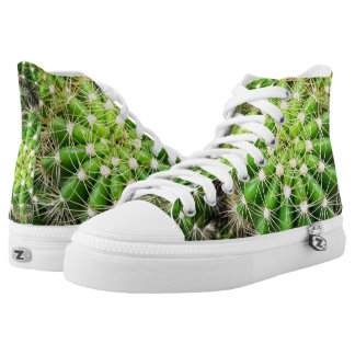 Cacti Zipz High Top Shoes