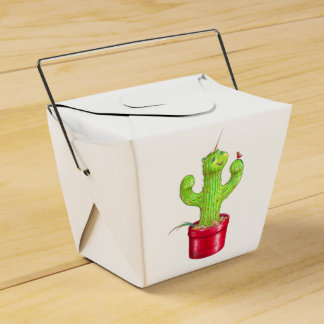 Cacticorn Favor Box