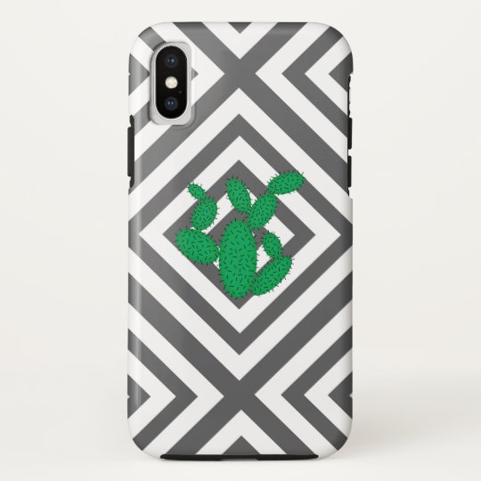 Cactus - Abstract geometric pattern - grey. HTC Vivid / Raider 4G Cover