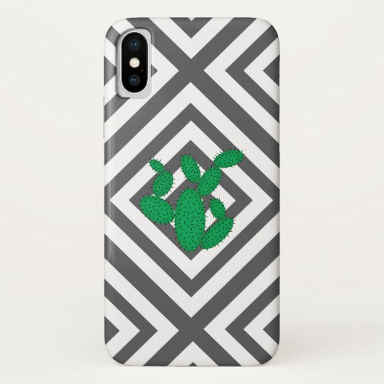 Cactus - Abstract geometric pattern - grey. Samsung Galaxy Nexus Cases