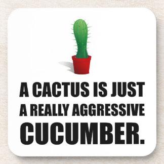 Cactus Aggressive Cucumber Coaster
