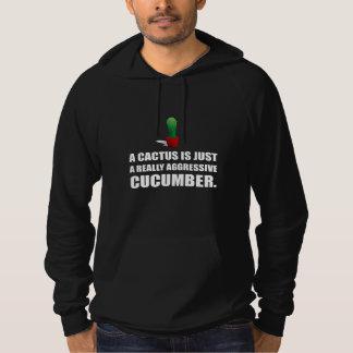 Cactus Aggressive Cucumber Hoodie