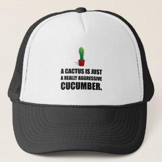 Cactus Aggressive Cucumber Trucker Hat
