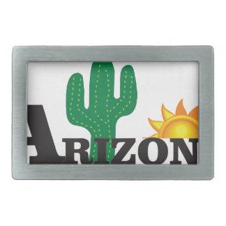 Cactus az belt buckle