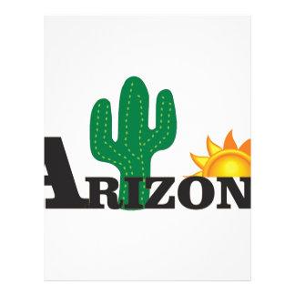 Cactus az letterhead