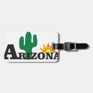 Cactus az luggage tag