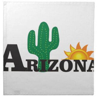 Cactus az napkin
