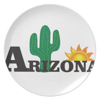 Cactus az plate