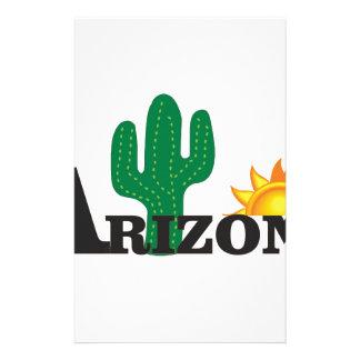 Cactus az stationery