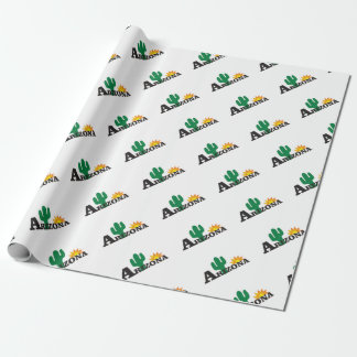 Cactus az wrapping paper