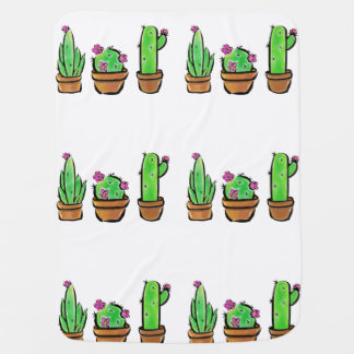 Cactus Baby Blanket