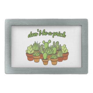 Cactus Belt Buckle