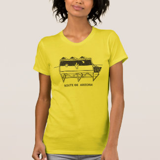Cactus Billboard on Route 66 in Arizona T-Shirt
