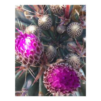 Cactus blossom letterhead