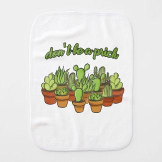 Cactus Burp Cloth