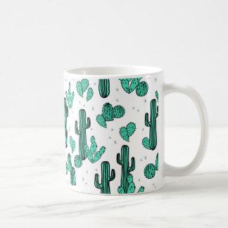 Cactus Cacti Tropic Summer Southwest Andrea Lauren Coffee Mug