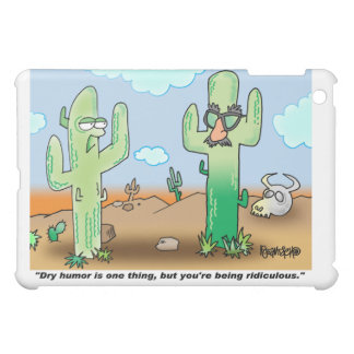 Cactus Cartoon | Dry Humor iPad Mini Cases