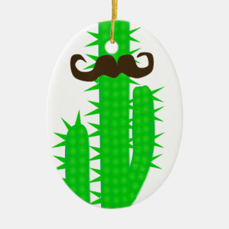 cactus ceramic ornament