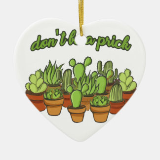 Cactus Ceramic Ornament