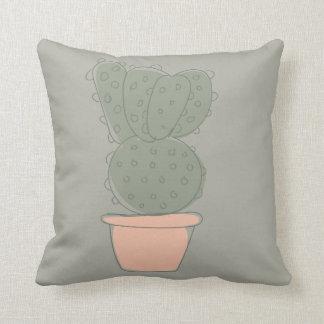 Cactus concept 1 throw pillow