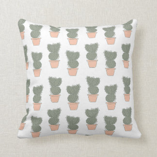 Cactus concept 2 throw pillow