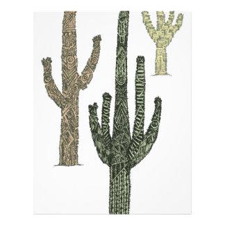 Cactus Custom Letterhead