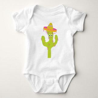 Cactus Cute Mexican Baby Bodysuit