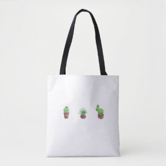 Cactus Design All-Over-Print Tote Bag