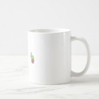 Cactus Design Classic White Mug