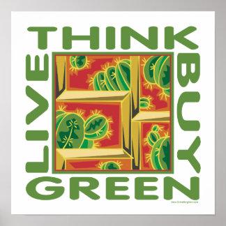 Cactus Design Poster
