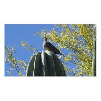 Cactus Dove Business Card