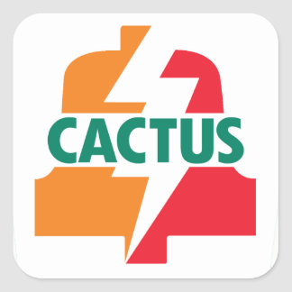 Cactus Eleven Bell sticker deisgn by Robitussin