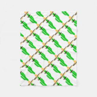 cactus fleece blanket