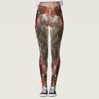 Cactus Flower 2 Leggings