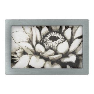 Cactus Flower Belt Buckles