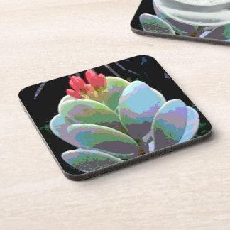 Cactus Flower Buds Coaster