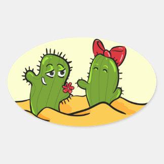 cactus flower love sticker