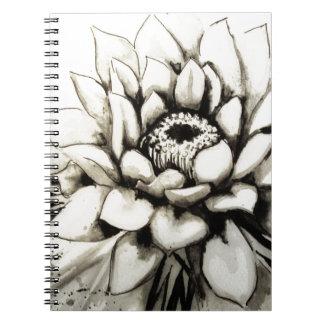 Cactus Flower Notebook